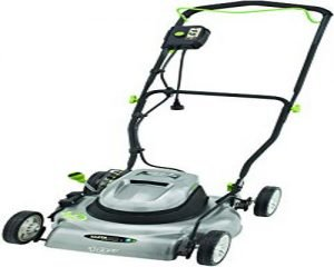 Earthwise lawnmower for small yards