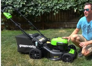 Electric Cordless Lawnmower