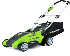 Greenworks Best electric lawnmower for mid-sized lawn