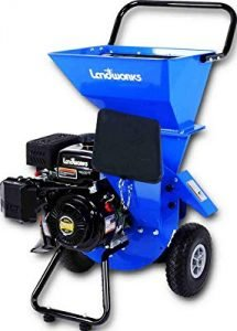 Landworks Super Heavy Duty 7HP 212cc Gas Powered Wood Chipper Shredder