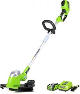 Greenworks string trimmer