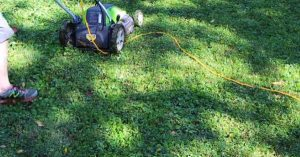 safety measures for using electric lawn mower