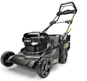 EGO power 56 volt self propelled lawn mower