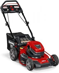 Snapper XD 82V stepsense lawn mower
